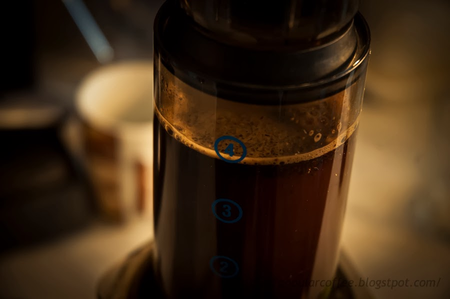Aeropress by popularcoffee blog - how to