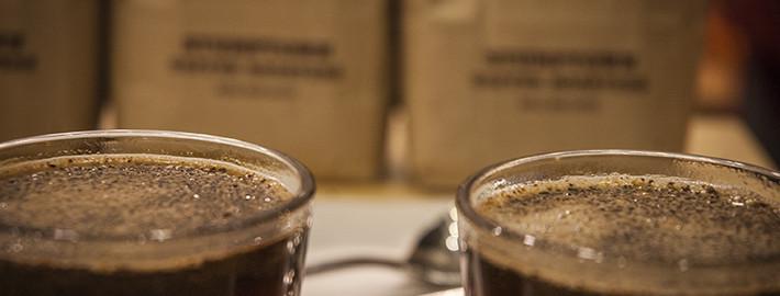 amerykańska kawa - cupping