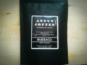 Audun Coffee Kolumbia Buesaco test