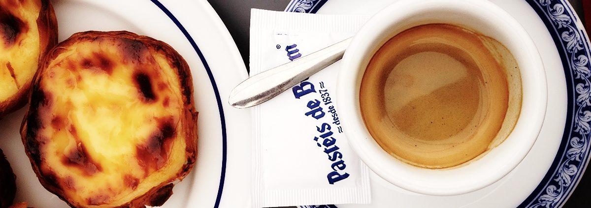 kawa w portugalii pasteis de belem
