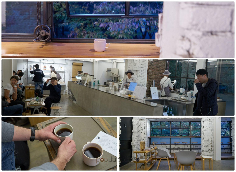 Seul center coffee