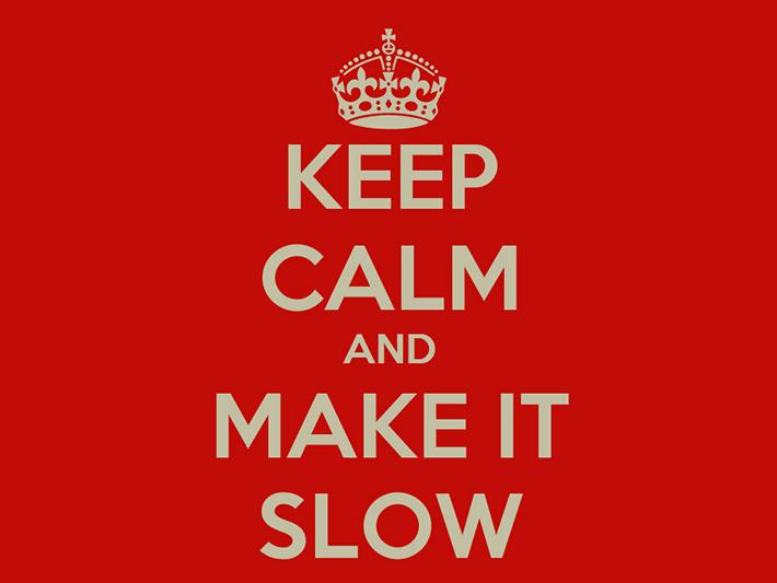 Keep calm and make it slow – czyli czemu slow food tak a slow coffee już nie?