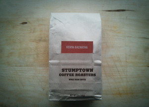Stumptown Coffee test
