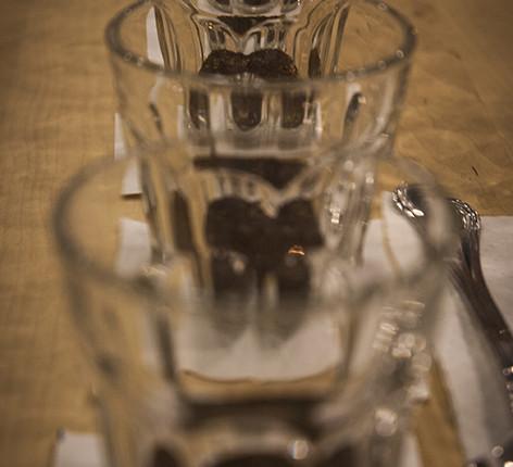 amerykańska kawa - cupping - przygotowanie