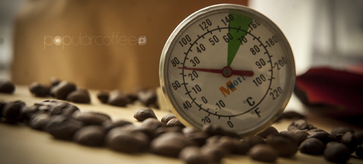 temperatura kawy niedobra kawa