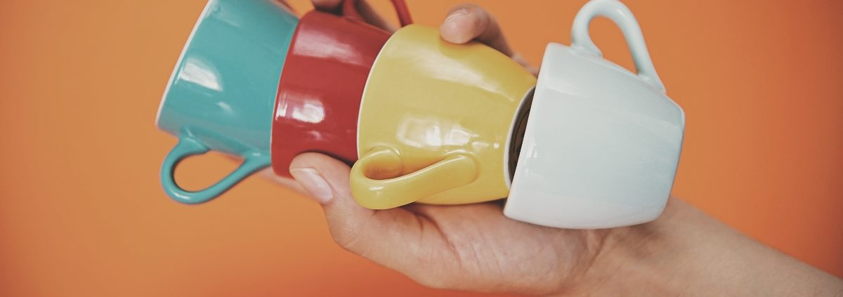 w czym pić kawę