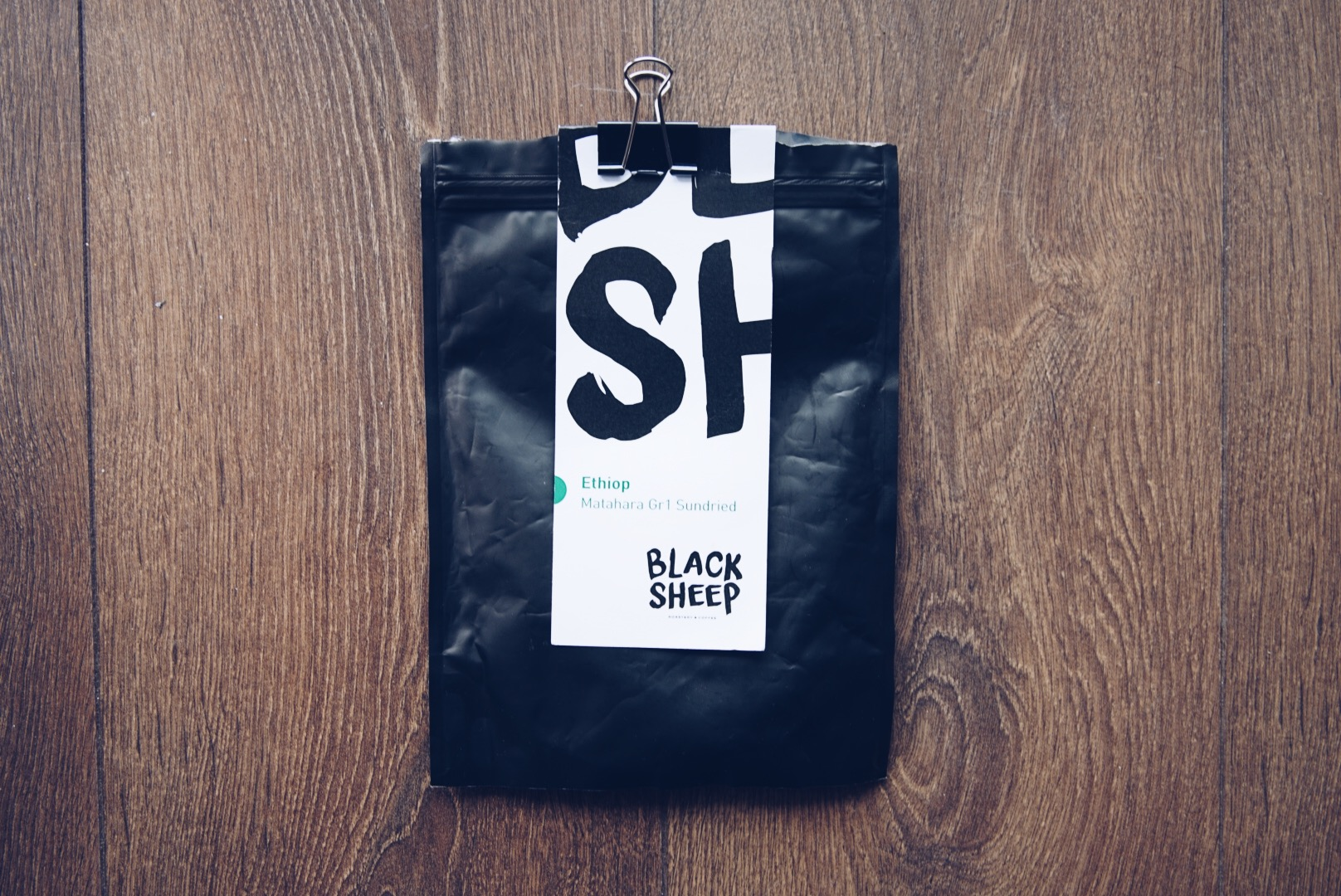 Black Sheep, Etiopia Matahara Gr 1 Sundried