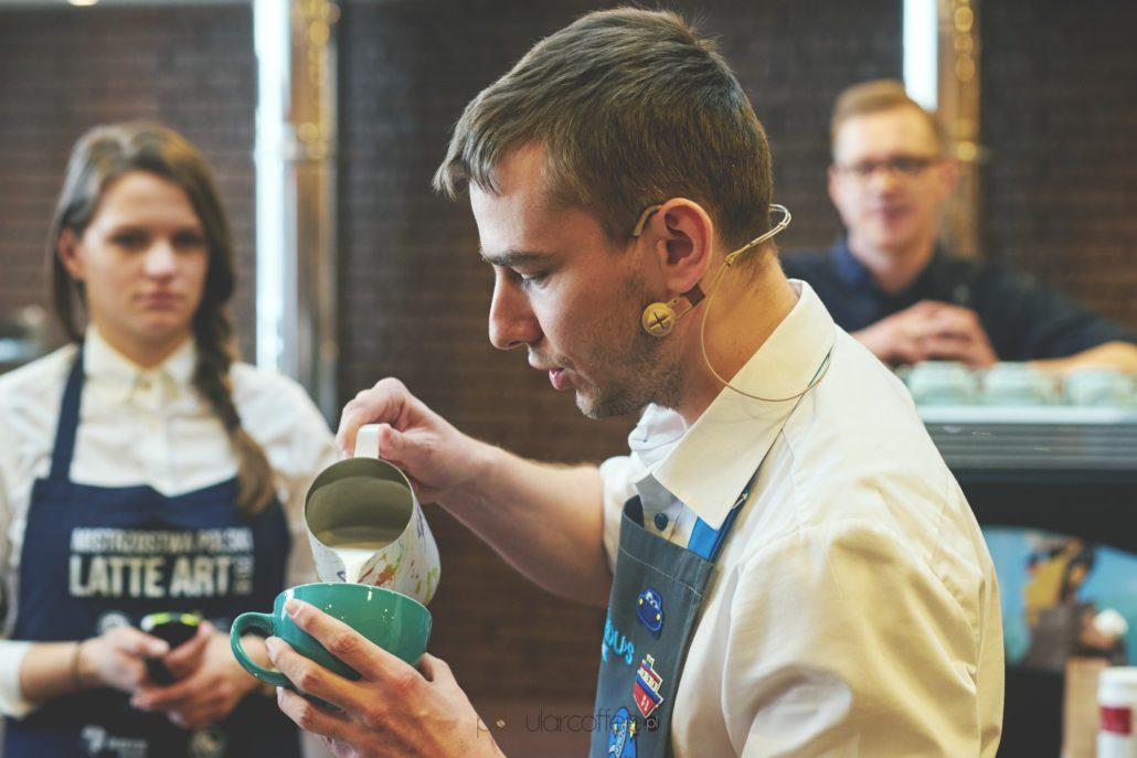 mistrzostwa polski latte art dąbek