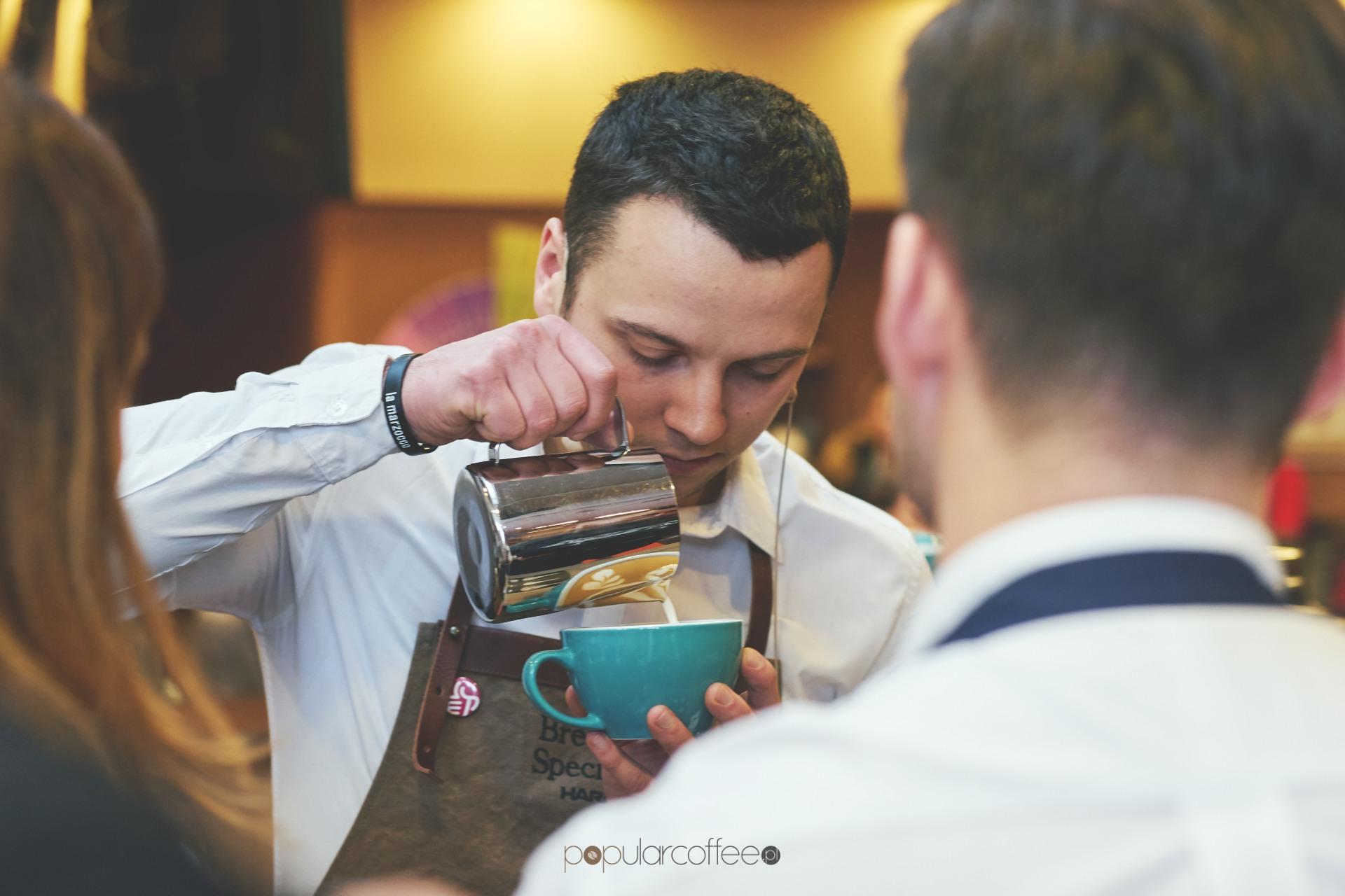 mistrzostwa polski latte art krysiński